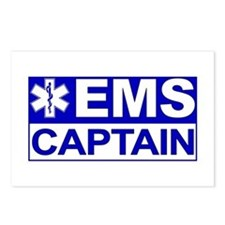 EMS Captain Postcards (Package of 8)