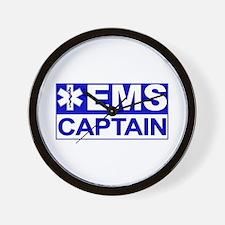 EMS Captain Wall Clock