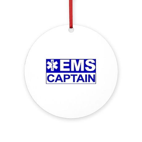 EMS Captain Ornament (Round)