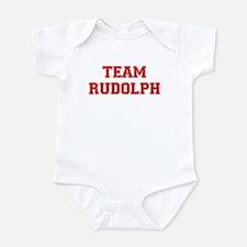 Team Rudolph Red Infant Bodysuit