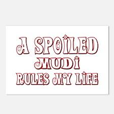 Spoiled Mudi Postcards (Package of 8)