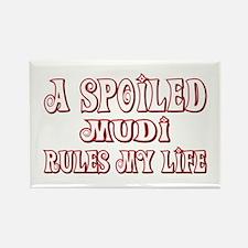 Spoiled Mudi Rectangle Magnet (100 pack)