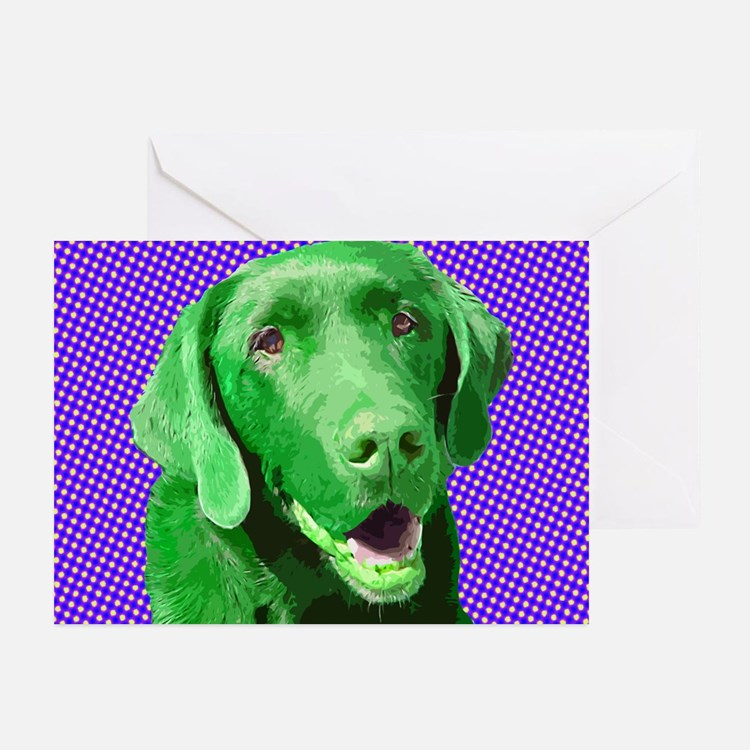 Happy Labs Greeting Cards (Pk of 10)