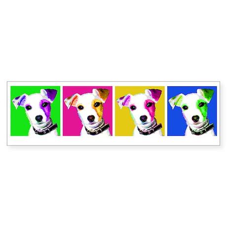 Jack Russell Pup Bumper Sticker