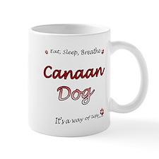 Canaan Dog Breathe Mug