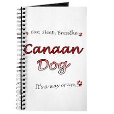 Canaan Dog Breathe Journal