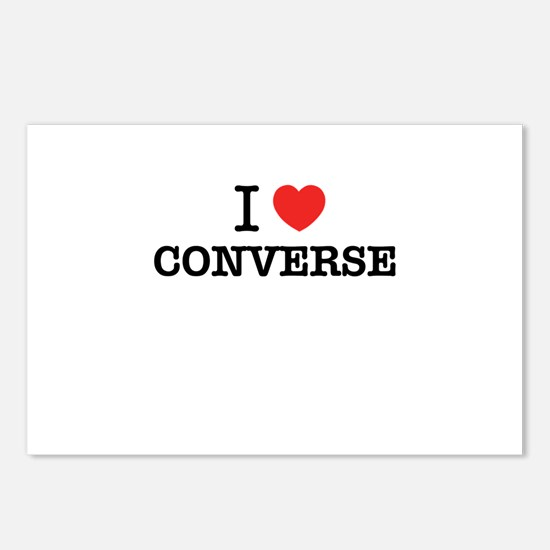 I Love CONVERSE Postcards (Package of 8)