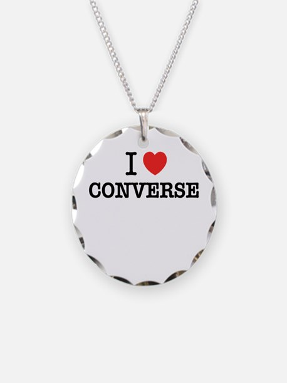 I Love CONVERSE Necklace