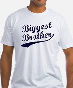Biggest Brother (Blue Text) T-Shirt
