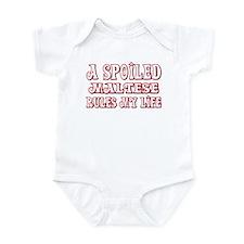 Spoiled Maltese Infant Bodysuit