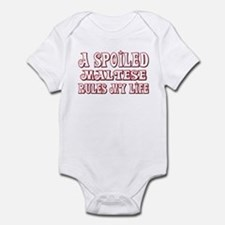 Spoiled Maltese Infant Bodysuit
