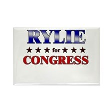 RYLIE for congress Rectangle Magnet