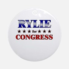 RYLIE for congress Ornament (Round)