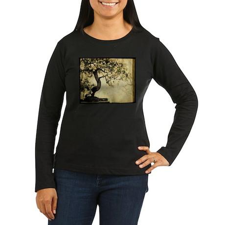 'Beautiful Day!' Women's Long Sleeve Dark T-Shirt