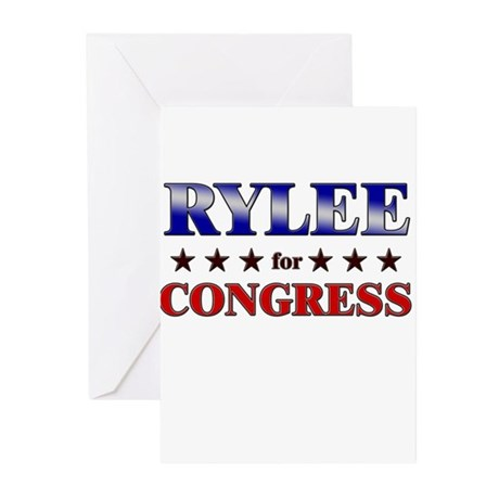 RYLEE for congress Greeting Cards (Pk of 10)