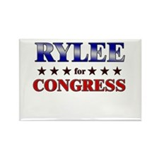 RYLEE for congress Rectangle Magnet