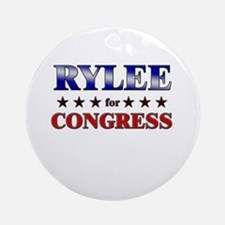RYLEE for congress Ornament (Round)