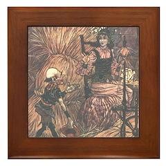 Folkard's Rumpelstiltskin Framed Tile