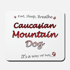 Caucasian Breathe Mousepad