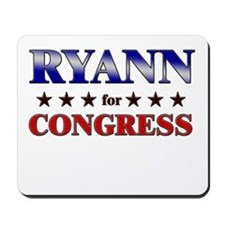 RYANN for congress Mousepad
