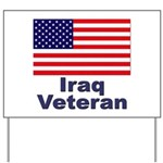 Iraq Veteran Yard Sign