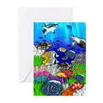 Tropical Fish Greeting Cards (Pk of 10)