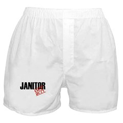 Off Duty Janitor Boxer Shorts