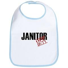 Off Duty Janitor Bib