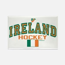 IE Ireland(Eire/Erin)Hockey Rectangle Magnet