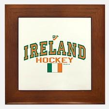 IE Ireland(Eire/Erin)Hockey Framed Tile