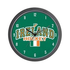 IE Ireland(Eire/Erin)Hockey Wall Clock
