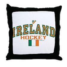 IE Ireland(Eire/Erin)Hockey Throw Pillow