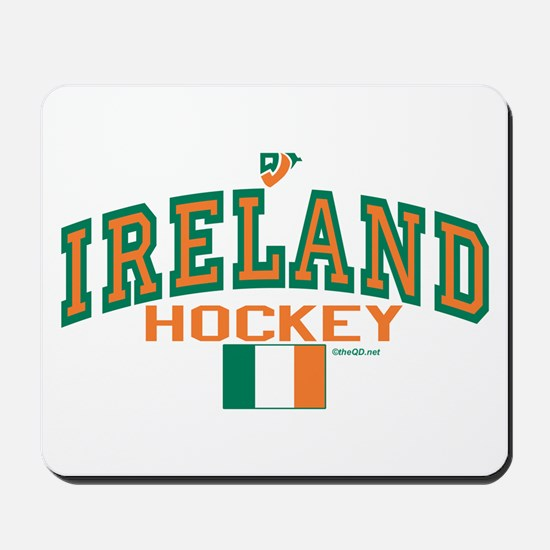 IE Ireland(Eire/Erin)Hockey Mousepad