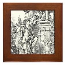 Crane's Rapunzel Framed Tile