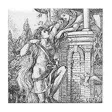 Crane's Rapunzel Tile Coaster