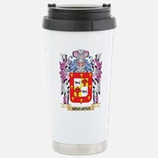 Hinojosa Coat of Arms ( Travel Mug
