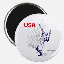 USA Tennis Magnets