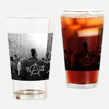 Cute Punk Drinking Glass