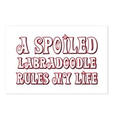 Spoiled Labradoodle Postcards (Package of 8)