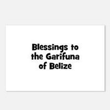 Blessings to the Garifuna of  Postcards (Package o