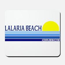 Lalaria Beach, Greece Mousepad
