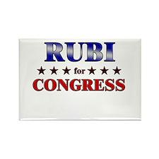 RUBI for congress Rectangle Magnet