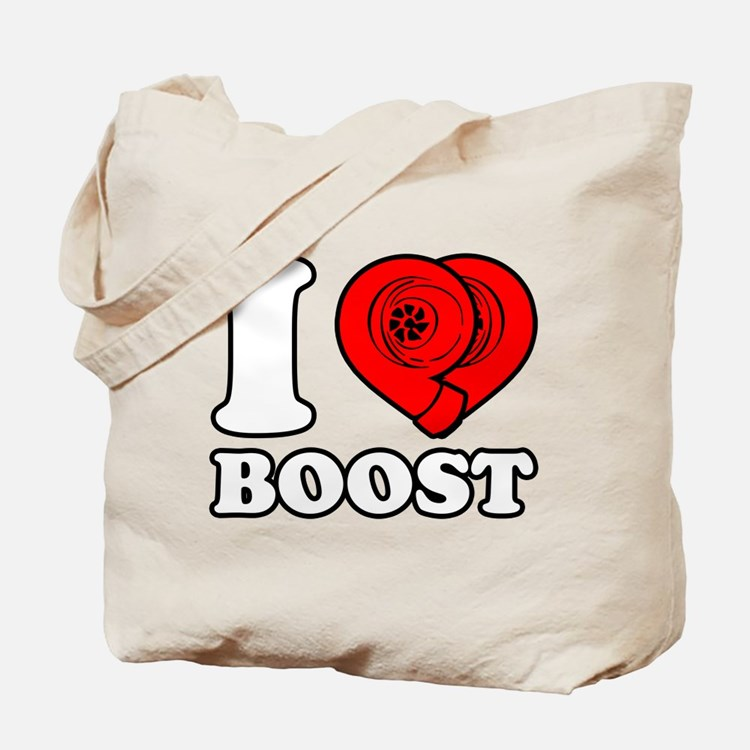 I Heart Boost Tote Bag