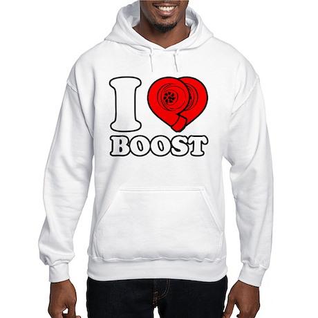 I Heart Boost Hooded Sweatshirt