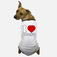 I Heart Boost Dog T-Shirt