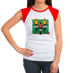 Foosball Women's Cap Sleeve T-Shirt