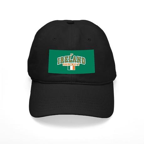 IE Ireland(Eire/Erin)Hockey Black Cap