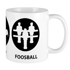 Eat Sleep Foosball Mug