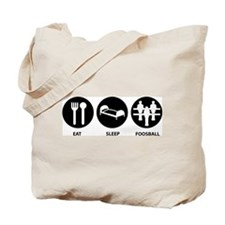 Eat Sleep Foosball Tote Bag