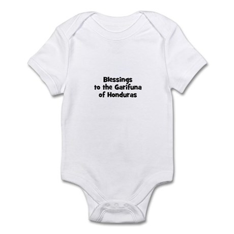 Blessings to the Garifuna of Infant Bodysuit